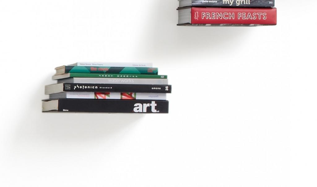 Conceal Boekenplank Umbra : Boekensteun conceal set van 3 zilver groot umbra lil.nl